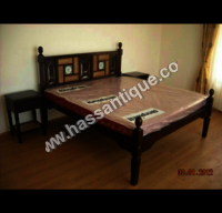 Vintage Teakwood Bed