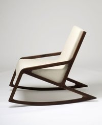 Teakwood Rocking Chair