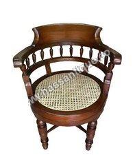 Teakwood Revolving Chair