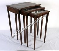 Teakwood Nesting Table
