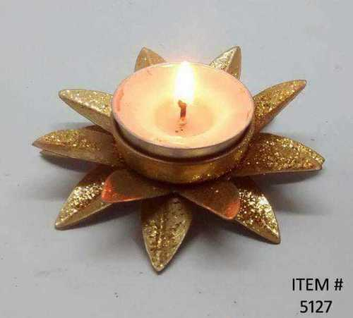 Lotus Flower Candle Holder with Candle