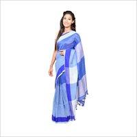 Blue Linen Handloom