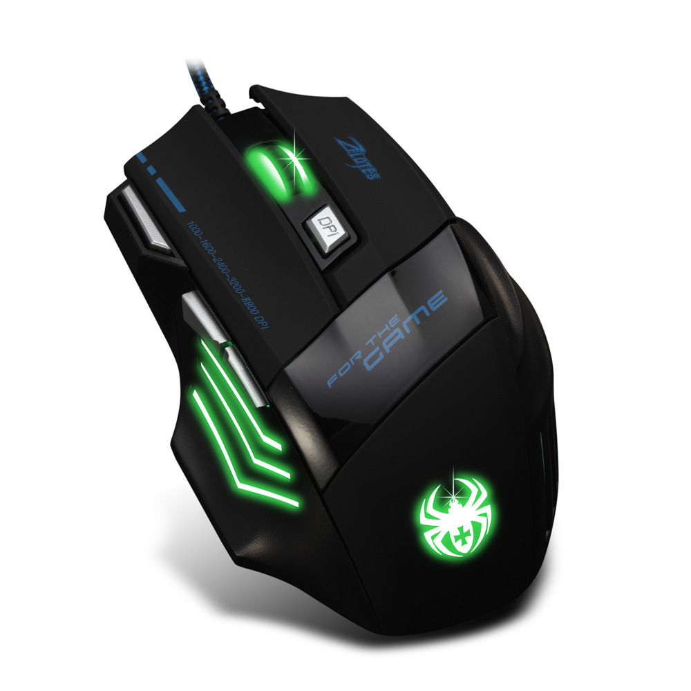 Breathing Light Gaming Mouse, Usb Interface Wired Mouse