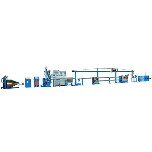 Thin Insulation Automotive Wire Extrusion Line
