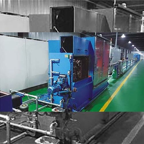High Speed Tendom Extrusion Line