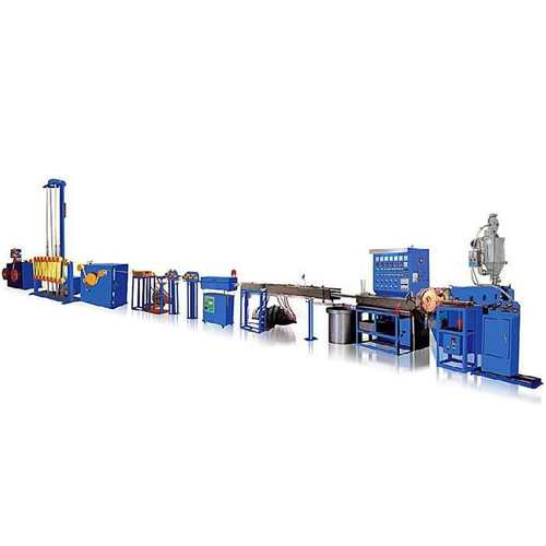 Flat Wire Ribbon Wire Silicon Cable Extrusion Line