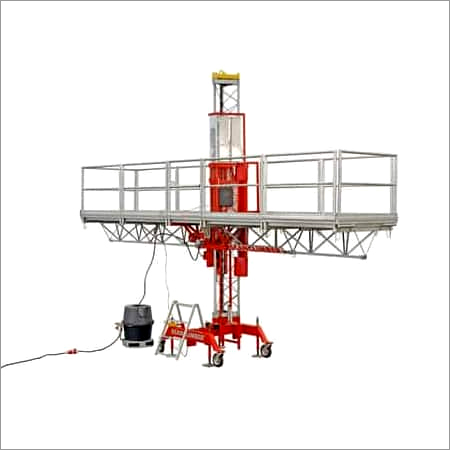 Light Duty Mast Climbling Work Platform