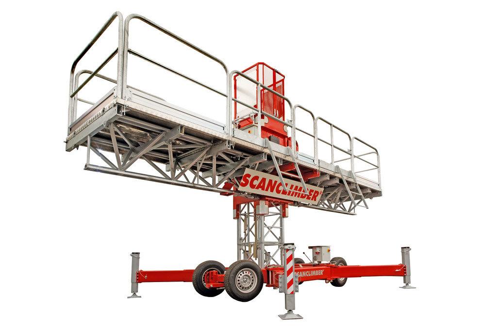 Heavy Duty Mast Climbling Work Platform