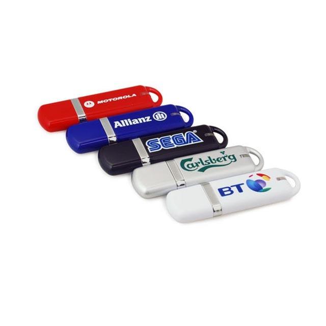 Plastic USB Flash Drive Memory Stick