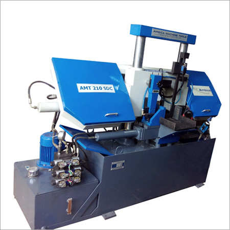 Double Column (Pillar Type) Semi Automatic Band Saw Machine
