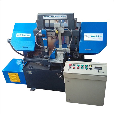 Double Column LM Guide Ways Bandsaw Machine