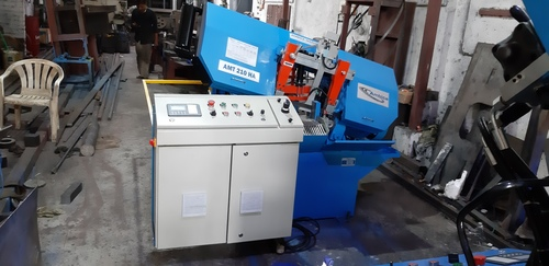 Hinge Type Automatic Band Saw Machine