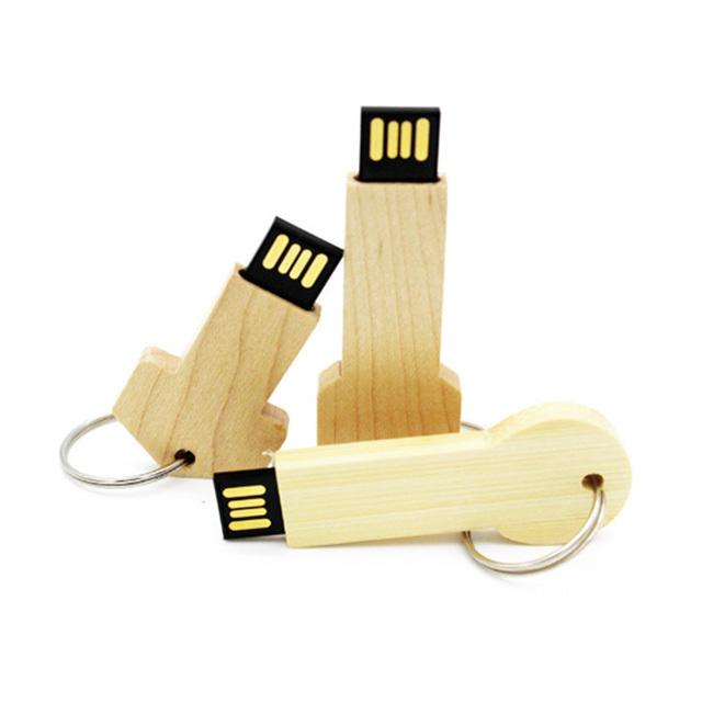 wooden stick usb flash drive