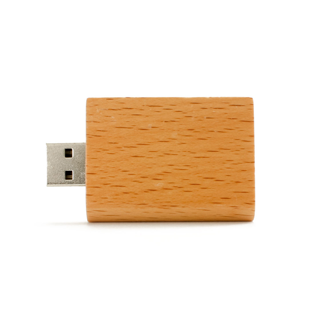 Top quality wooden book model USB flash drive