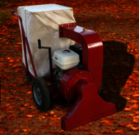 Leaf Collector Machine