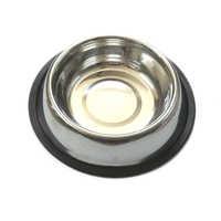 Steel Dog Bowl