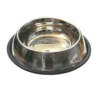 Round Stainless Steel Pet Bowl