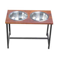 Pet Bowl Table Stand