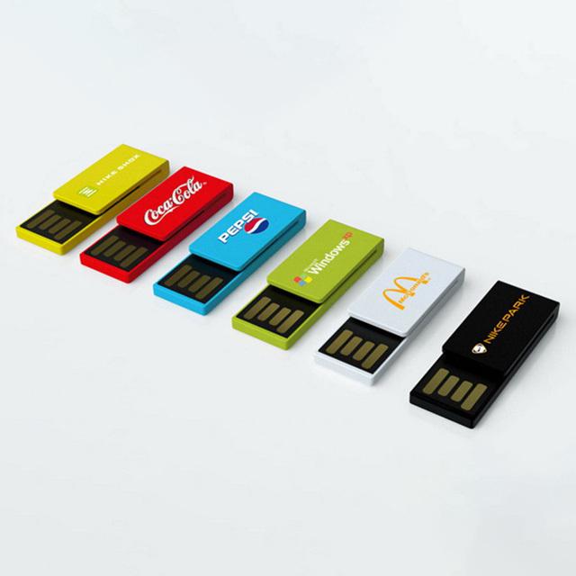 Multi Colour Card Plastic USB