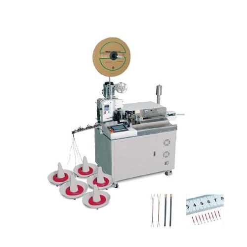 Automatic Crimping and Tinning Machine