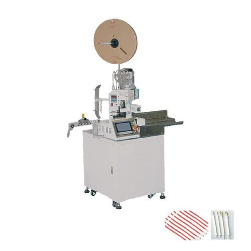 Single End Crimping And Back End Twisting Machine