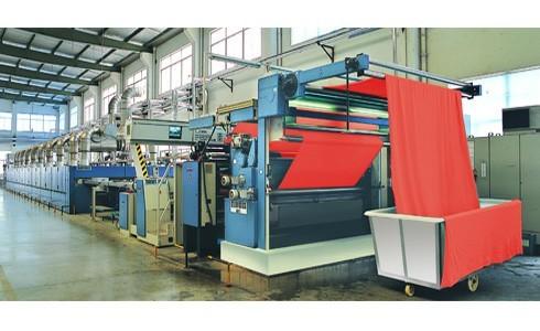 Hot Air Stenter Setting Machine