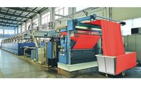 Hot Air Stenter Setting Machine