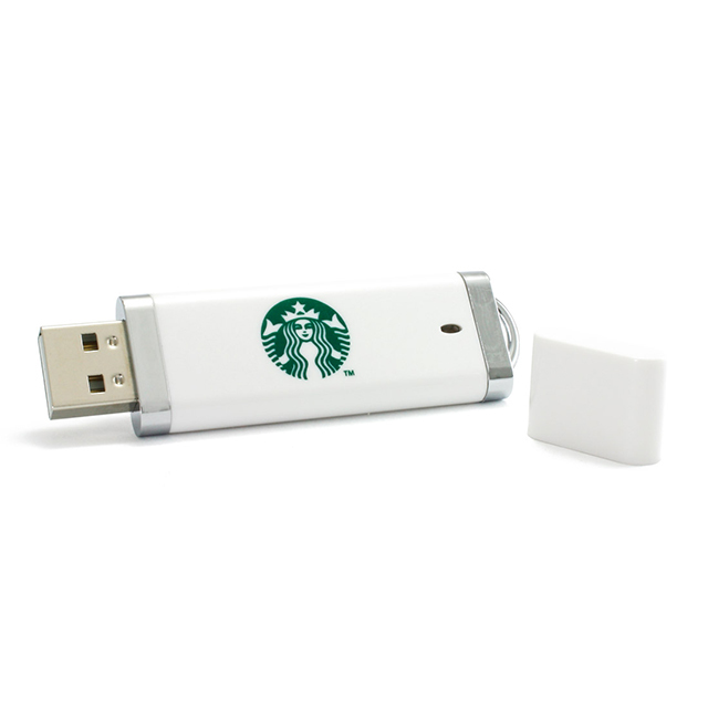 Plastic Colorful rectangular USB Flash Drive