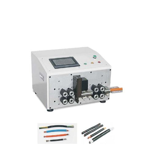 Heavy Wire Cutting and Stripping Machine