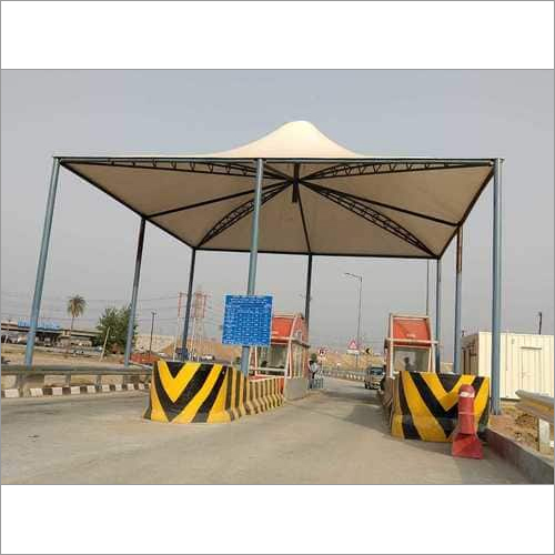 Crash Barrier Construction Work