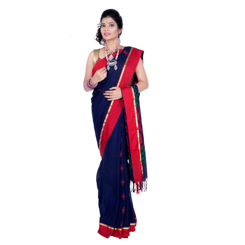 Boutique Handloom Cotton Saree