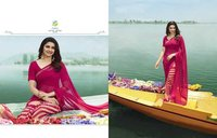 Fancy Designer Georgette Silk Sarees