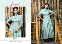 Latest Anarkali Rayon Kurtis