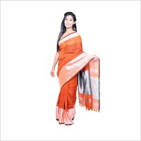 Fancy linen saree