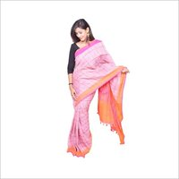 Linen  Sarees Checked