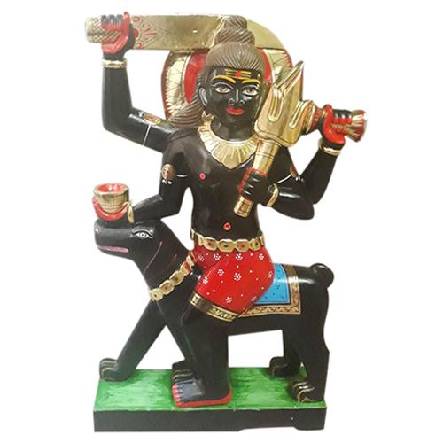 Marble Kaal Bhairav Ji Statue
