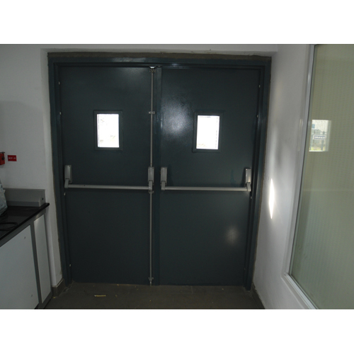 Fire Rated Steel Glazed Door