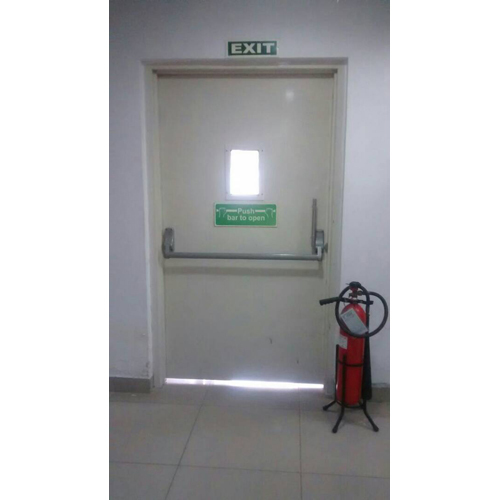 Fire Retardant Exit Door