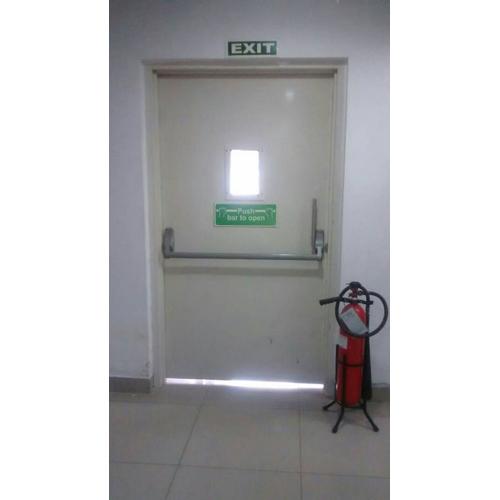 Fire Retardant Exit Door