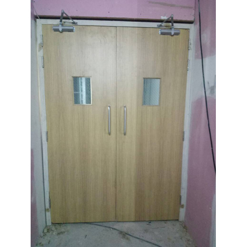 Fully Glazed Fire Door