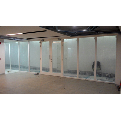 Fully Glazed Partition Fire Door