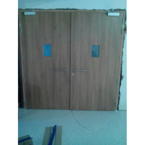 Wooden Exit Fire Doors