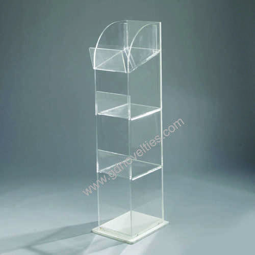 Acrylic Clear standing stand
