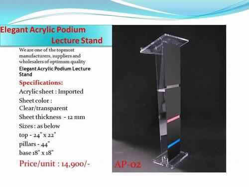 Acrylic Podium and Lactern