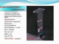 Acrylic Elegant Podium Stand