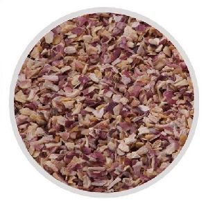 Dried red onion chopped