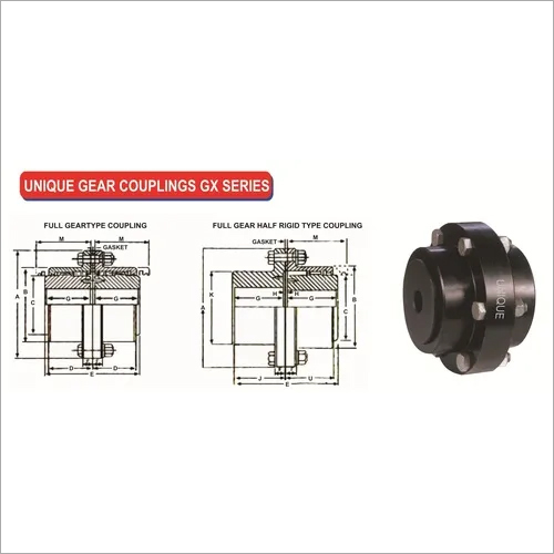 UNIQUE GEAR COUPLINGS