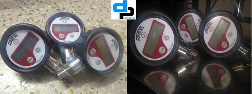 Winters Digital Pressure Gauge -1 To 25 bar