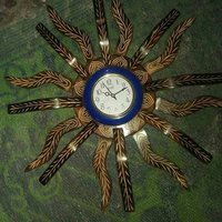 Wooden clock 7