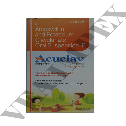 Amoxycillin and Potassium Clavulanate syrup